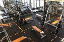 L'Orange Bleue Perpignan Salle de sport Saint Charles et son grand espace cardio avec elliptique, tapis, rameurs..au Soler.
