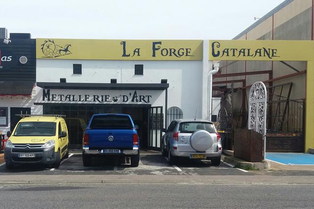 La Forge Catalane Perpignan réalise également des travaux de ferronnerie d'art, de forge, de serrurerie au Mas Guérido Cabestany (® SAAM-david Gontier)