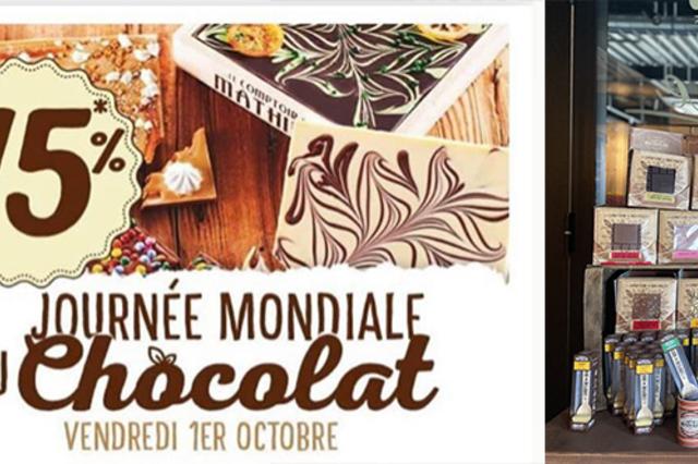La journée mondiale du chocolat se célèbre dans notre boutique Le Comptoir de Mathilde Perpignan-Claira