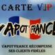 Vapot France Perpignan propose une carte de fidélité.