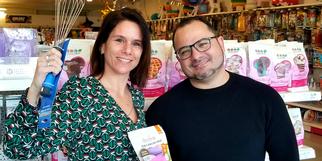 Party Cakes Claira est géré par le couple André et Céline Salés