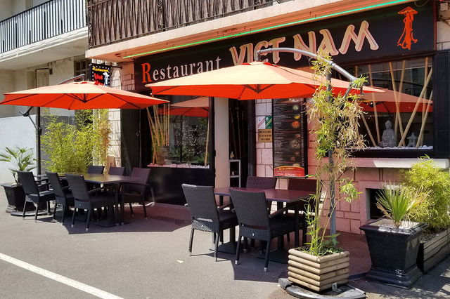 Restaurant vietnamien Le Viet Nam au centre-ville de Perpignan