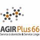 Logo de l'agence Agir Plus 66 spécialiste d'aides à domicile et de services à la personne sur Perpignan et les alentours.