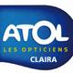 Logo de l'opticien Atol dans la ville de Claira