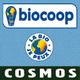 Logo de la boutique Bio Cosmos sur l'avenue de Prades dans la ville de Perpignan