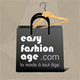 Logo de la boutique de mode Easy Fashion Age au centre-ville de Perpignan