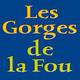 Logo des Gorges de la Fou qui se visitent dans la commune d'Arles sur Tech