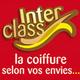 Logo du salon de coiffure Interclass au Mas Guerido de Cabestany