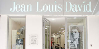 Coiffeur Perpignan Jean Louis David au centre-ville dans la rue de l'ange (® networld-aGuje)