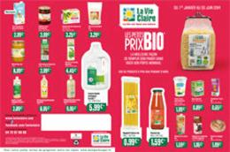 Catalogue de petits prix bio du magasin bio La Vie Claire de Perpignan