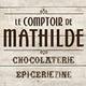 Le Comptoir de Mathilde à Claira propose des produits gourmands, chocolats et épicerie fine.