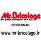 Logo du magasin Mr Bricolage au centre commercial Château Roussillon à Perpignan