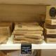 Torrons Vicens Perpignan vend des tourons bio et des tablettes de chocolats bio en boutique en centre-ville.(® networld-Gontier)