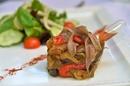 Légumes du soleil du restaurant Al Catala dans la ville de Céret (credits photos : networld – Stéphane Delchambre)
