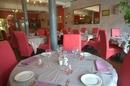 Salle du restaurant Al Catala dans la ville de Céret (credits photos : networld – Stephane Delchambre)