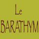 Logo du restaurant Le Barathym qui presente une cuisine traditionnelle francaise dans la Rue des Cardeurs au centre-ville de Perpignan.