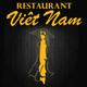 Logo du restaurant asiatique Le Viet Nam de cuisine vietnamienne dans le quartier Kennedy au centre-ville de Perpignan
