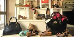 Chaussures Femme de la boutique Au Chat Botté de Thuir (credits photos : networld- Stéphane Delchambre)