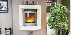 Insert Perpignan pour optimiser le chauffage et laisser voir les flammes (® networld-aGuje)
